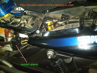 Cara pasang alarm motor pada Pulsar 135