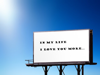 billboard in my life i love you more
