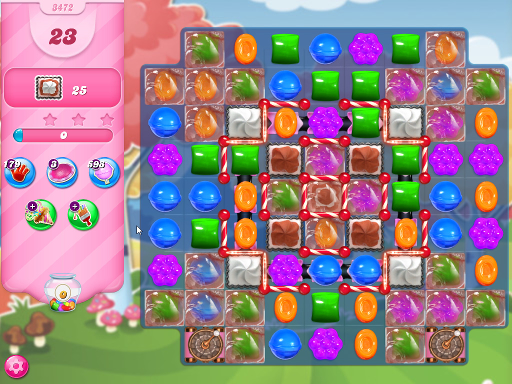 Candy Crush Saga level 3472