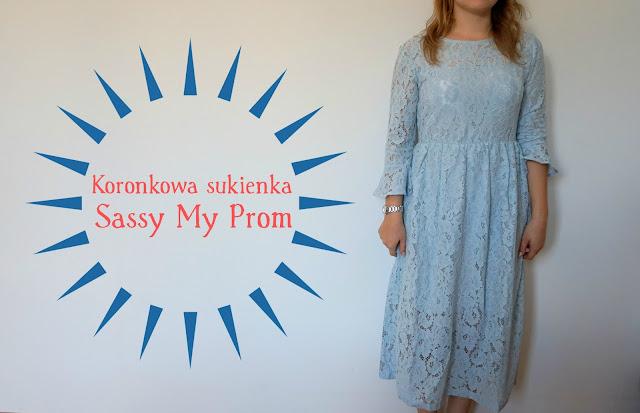 RECENZJA: Koronkowa sukienka | Sassy My Prom