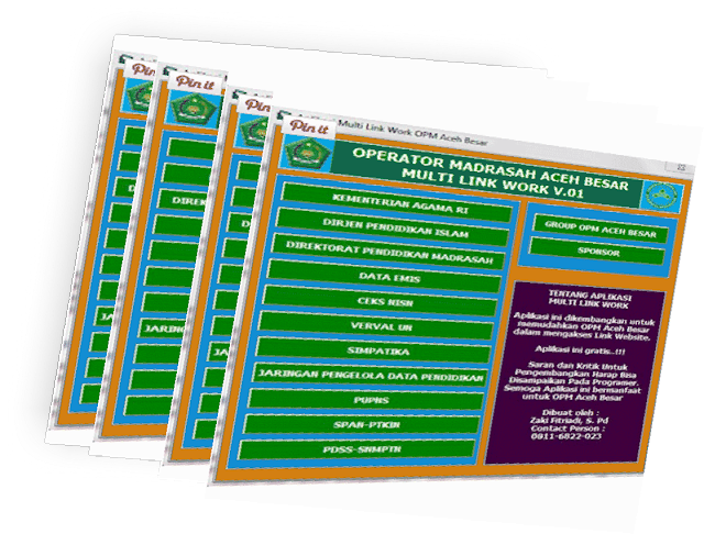 Download Aplikasi Multi Link Khusus Operator Sekolah MI,MTs,MA Lengkap