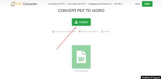 Cara merubah format pdf ke word tanpa aplikasi (.pdf ke .docx)