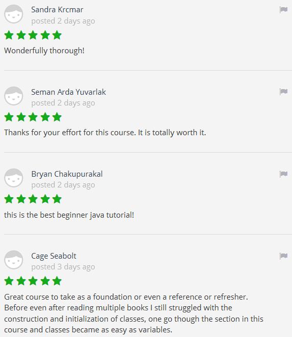 online java course reviews