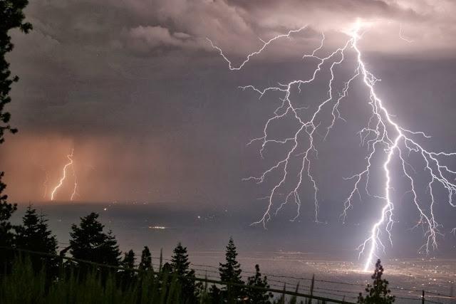 Έκτακτο δελτίο καιρού απο την ΕΜΥ: Καταιγίδες και χαλάζι τις επόμενες ώρες στην Ελλάδα