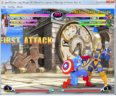 ultra-rom demul marvel vs capcom 2