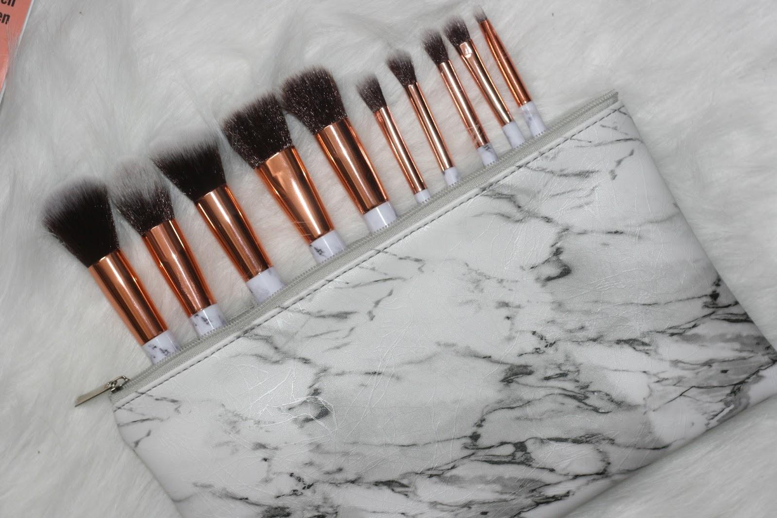 Beste Review | Marble brush set van Beauty88 - Lifestyle Lieke YO-63