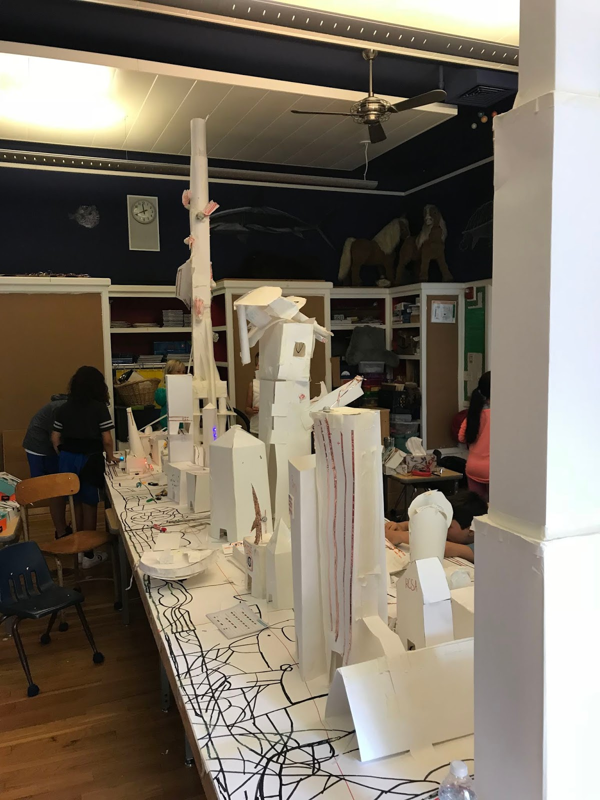 The giant completed city Providence Engineering Academy