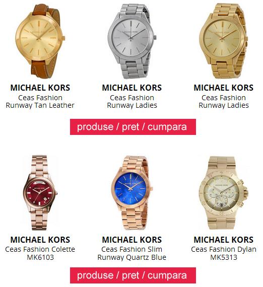 Ceasuri dama originale Michael Kors ieftine