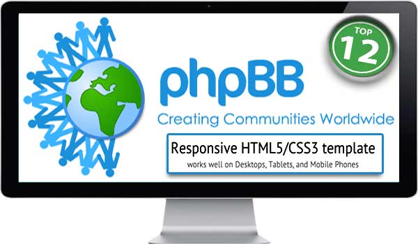 12 Most Popular Responsive phpBB Themes Download