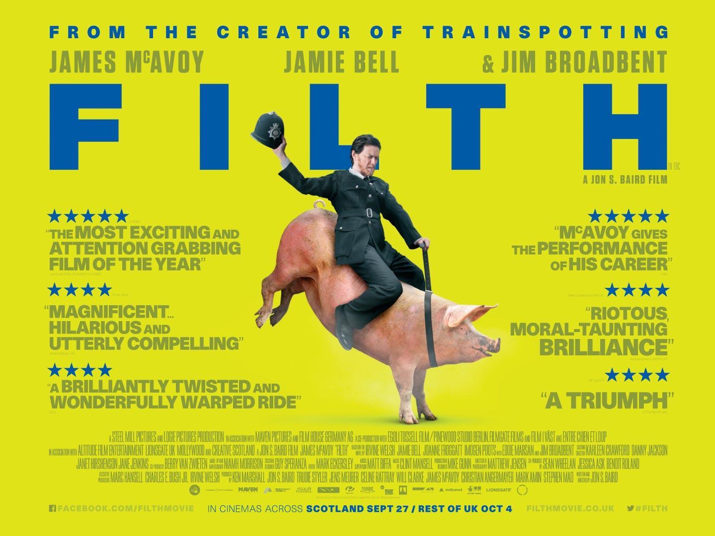 Filth, el sucio (2013)