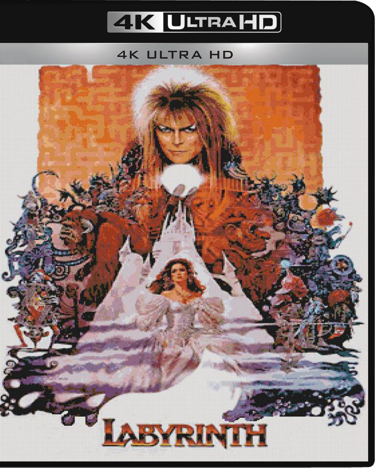 Labyrinth [1986] [UHD] [2160p] [Latino – Castellano]