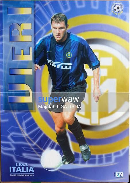 Poster Christian Vieri Inter Milan 1999