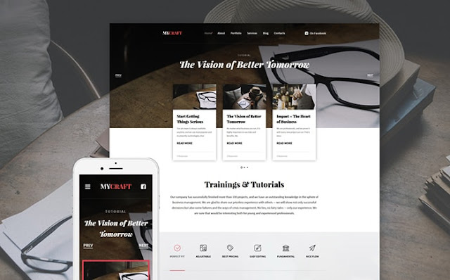 Art & Crafts Responsive WordPress Theme
