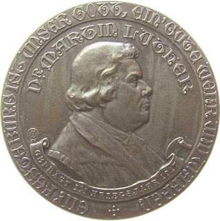 Luther-Gedenk-Medaille 1917