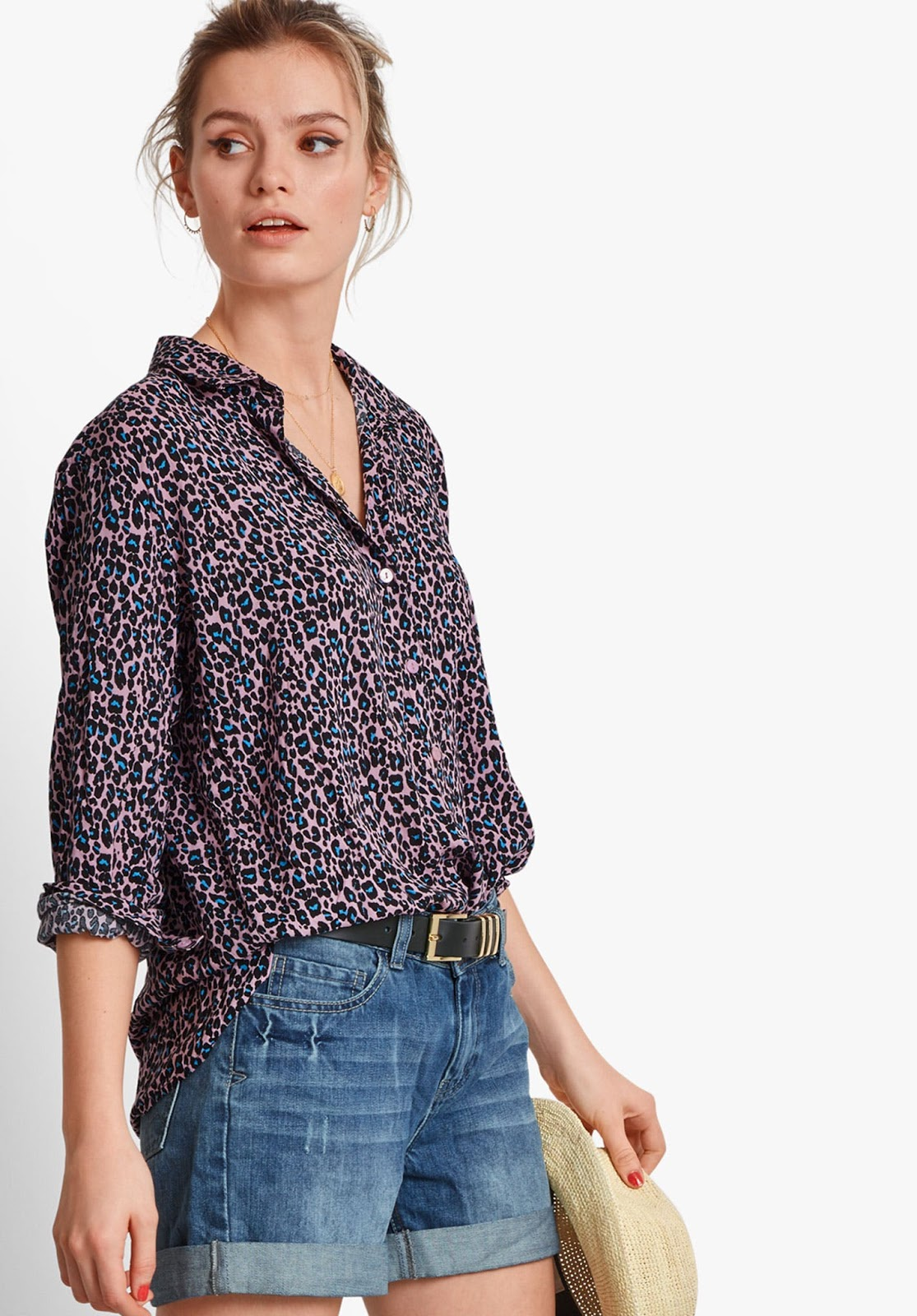 hush drop sleeve shirt