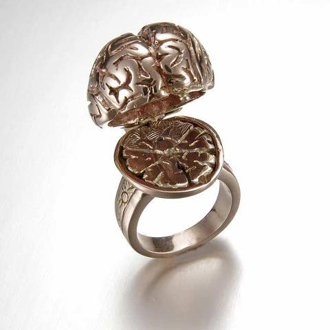 Tentacles Fungi And Anatomy Cast In Fine Metals The Very