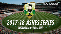 Ashes 2017-18 Live Telecast