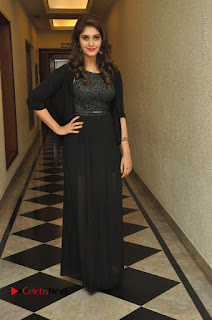 Actress Surabhi Stills in Black Long Dress at turodu Audio Launch  0098.JPG