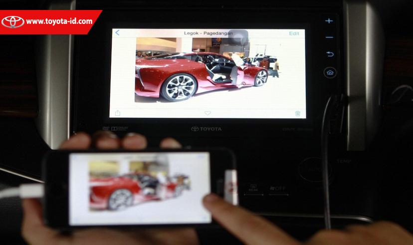 Harga All New Kijang Innova 2016 Type G Grand Avanza Putih Perbedaan V Dan Q Toyota Astra Indonesia Unit Tipe Sama Seperti Pada Namun Untuk Fitur Air Gestur Tidak Tersedia Berikut Ini Lengkap Audio
