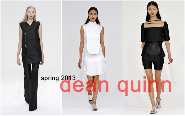 Dean Quinn Spring 2013 collection