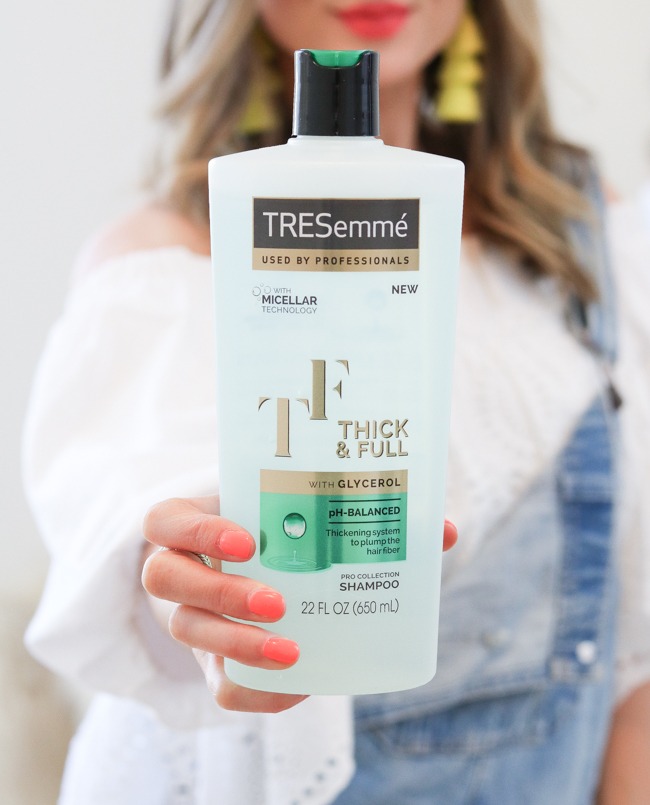 TRESemme thick and full shampoo