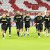 Η προπόνηση της ΑΕΚ στην «Allianz Arena» (pics/video)