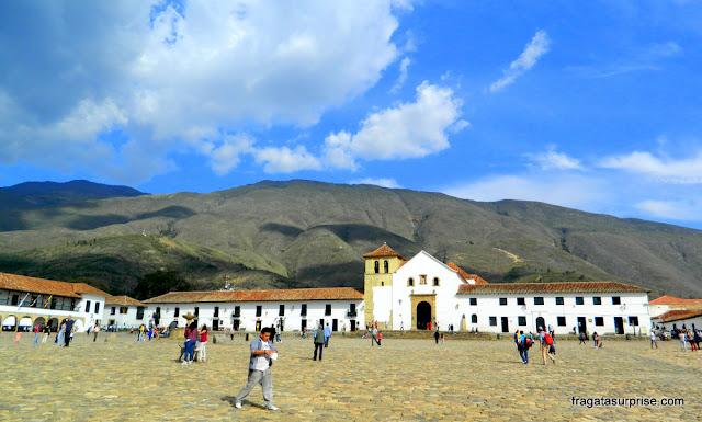 Praça Maior da Villa de Leyva, Colômbia