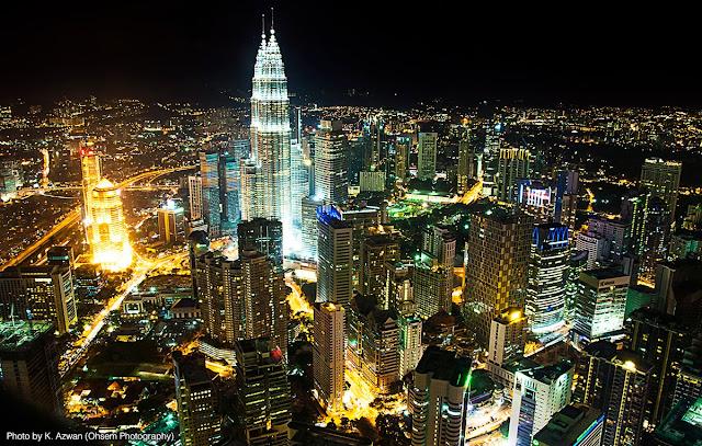 Kuala Lumpur City Skyline - KLCC - Petronas Twin Towers