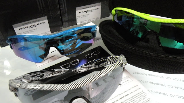 Oakley Fingerprint RADARLOCK Unboxing GReen Blue White