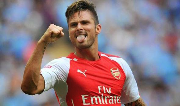 Olivier Giroud ineligible to face Dortmund
