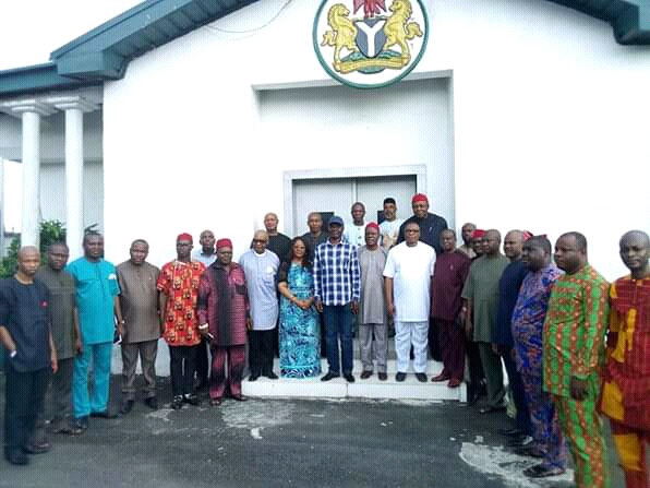 Former APC governorship aspirant in Abia, others drum support for @Atiku and @GovernorIkpeazu.