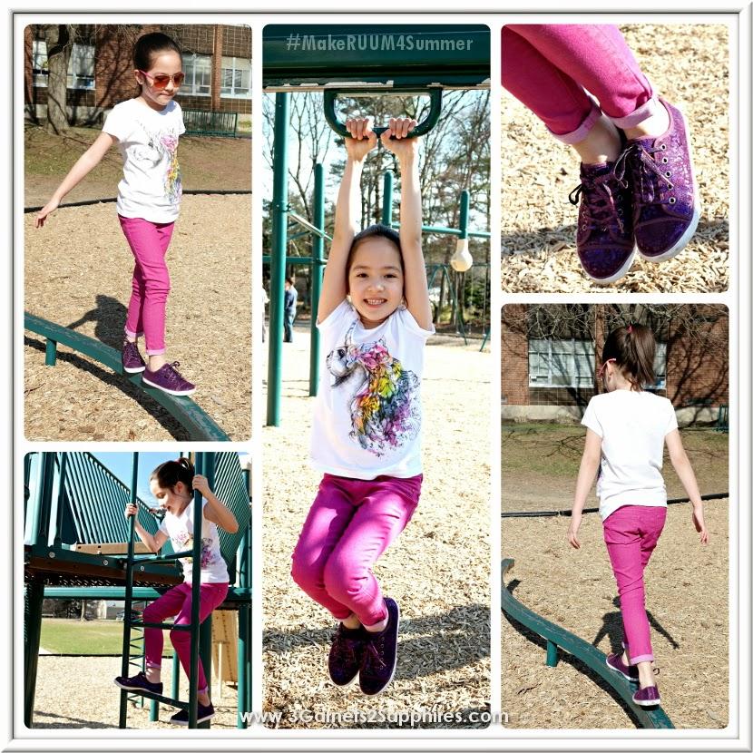 RUUM American Kids Wear spring and summer girls' fashions #MakeRUUM4Summer