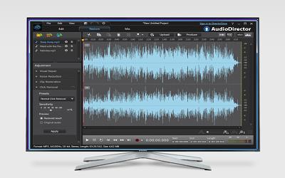 تنزيل برامج CyberLink AudioDirector كامل