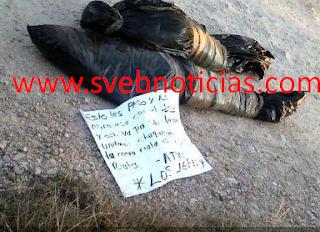 Dejan dos cuerpos embolsados este Viernes en Chilapa Guerrero