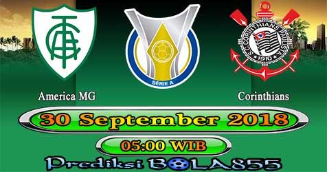 Prediksi Bola855 America MG vs Corinthians 30 September 2018