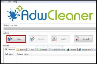 تحميل AdwCleanerبرنامج إزالة الاعلانات وأشرطة الادوات الضارة وملفات التجسس