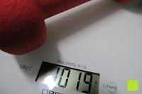 Gewicht: Neopren-Hanteln »Peso« Kurzhanteln in verschiedenen Gewichts- und Farbvarianten ( 0,5kg, 0,75kg, 1kg, 1,5kg, 2kg, 3kg & 4kg )