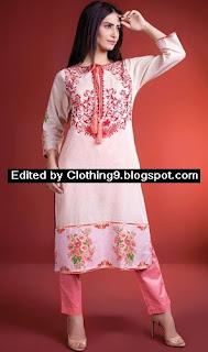 Warda Designer New Eid Dresses for Women