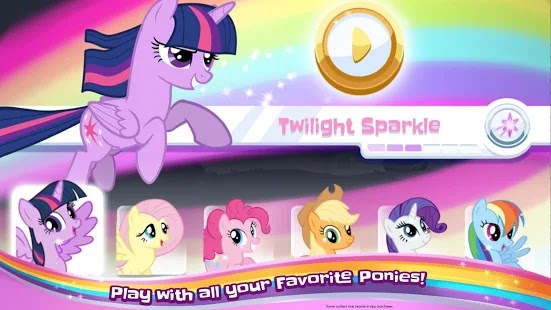 My Little Pony Rainbow Racing Apk+Data Free on Android Game Download