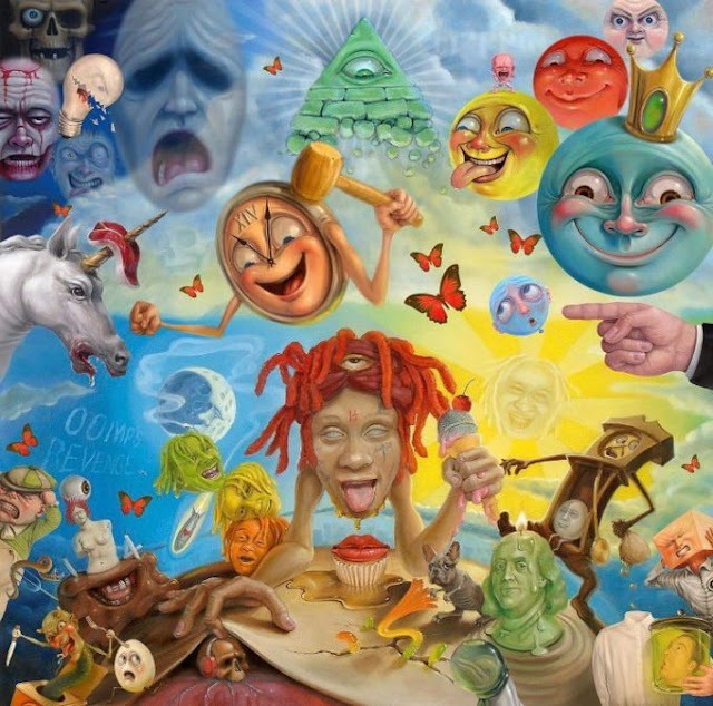 Stream Trippie Redd Official 14 Tracks In Debuted Album 'Life's A Trip'