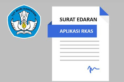 Surat Edaran dan Aplikasi RKAS Online