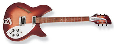 Đàn guitar bán mộc Rickenbacker 330