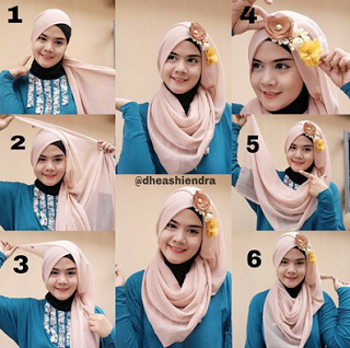 Cara memakai hijab untuk perpisahan sekolah terbaru