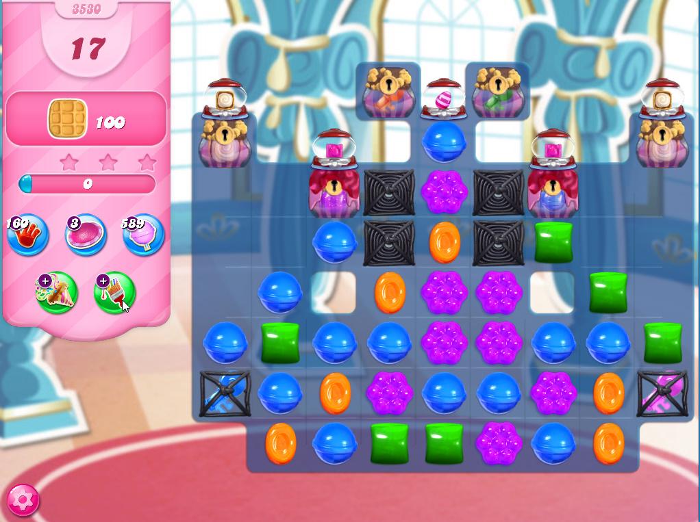 Candy Crush Saga level 3530