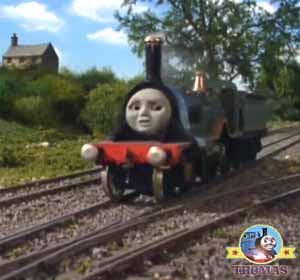 Thomas The Tank Engine Emily The Train Railway New Route To Travel