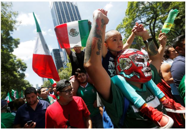 #WorldCup: Mexicans celebration Over World Cup Win over Germany Causes Slight Earthquake