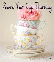 I would love to have you join me for my link party, Share Your Cup!