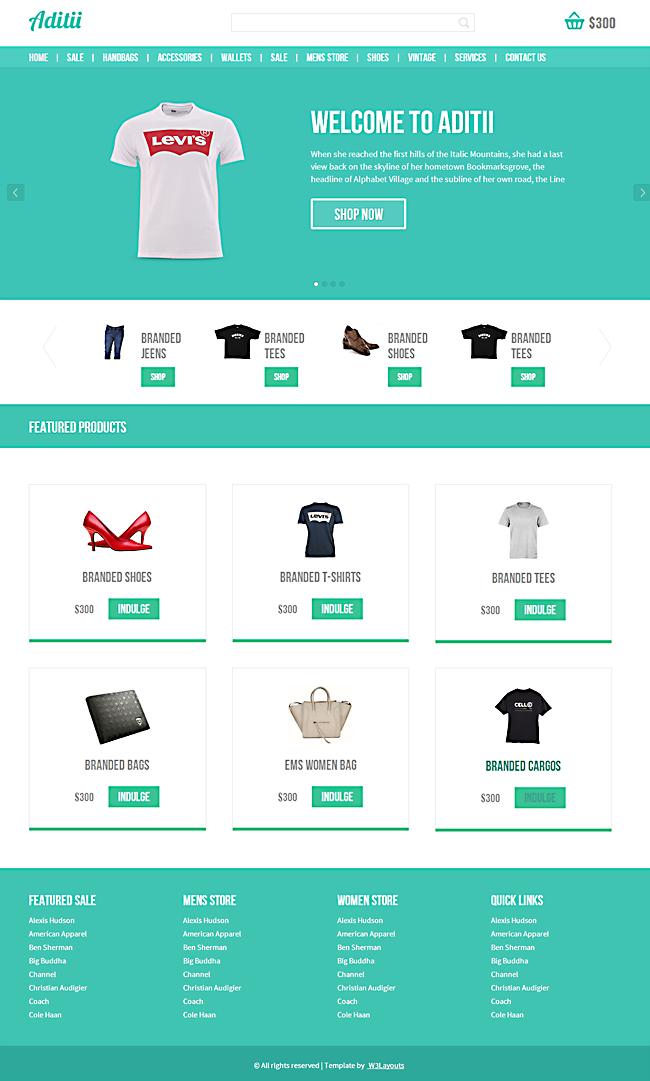 7 Template Responsive Keren & Gratis Untuk Website Toko