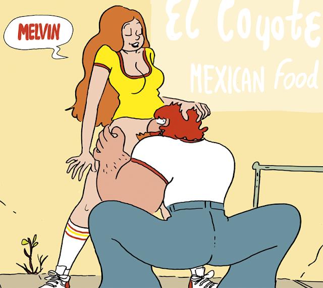 shoo bop Melvin illustration drawing comic sexy girl Artur Laperla