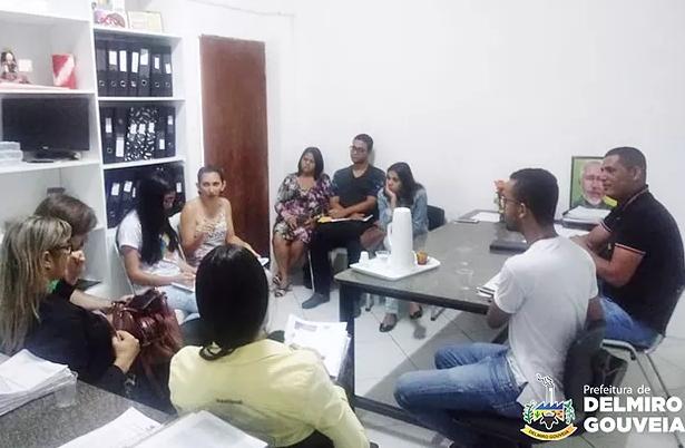 Secretários de Delmiro Gouveia se reúnem para discutir execução de ações para o Selo Unicef 2017 a 2020